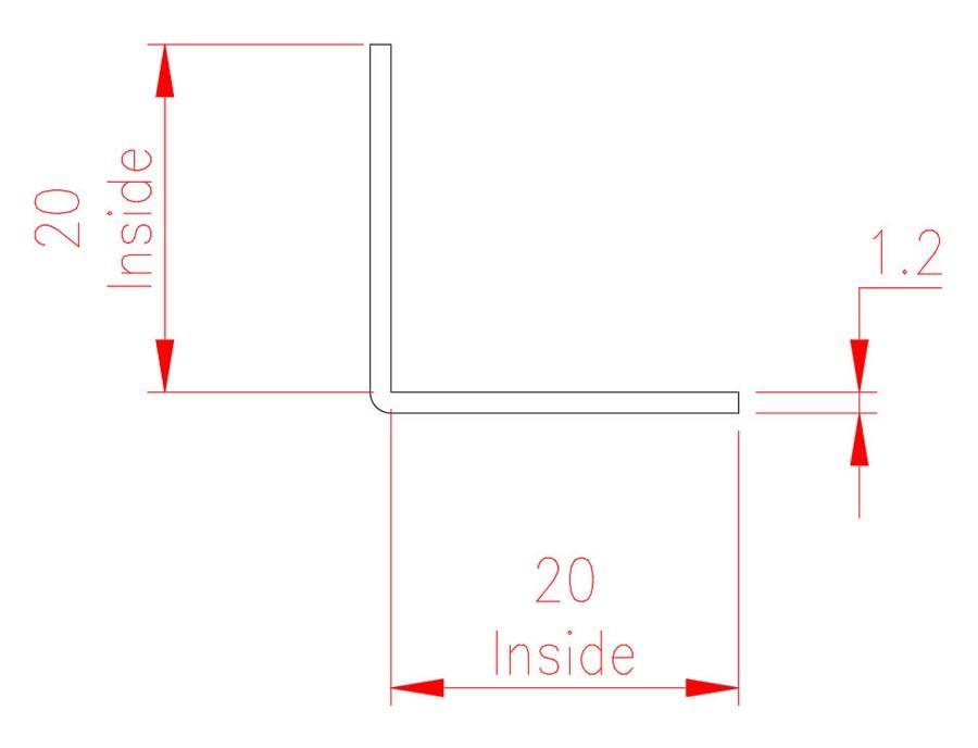 Angle Trim - Copper - Natural - MHTRM01