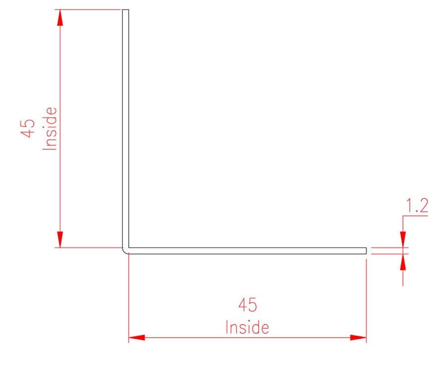 Angle Trim - Copper - Natural - MHTRM16