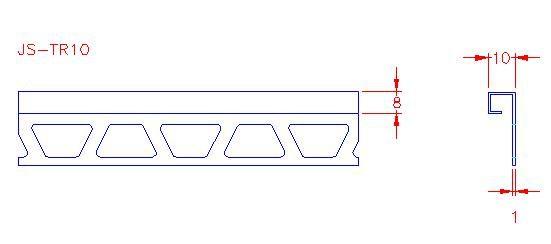 Box Trim - Stainless Steel - Mirror - 304 - JS-TR10