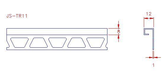 Box Trim - Stainless Steel - Mirror - 304 - JS-TR11