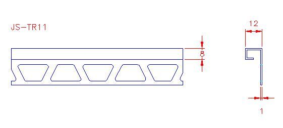 Box Trim - Stainless Steel - Mirror - 316 - JS-TR47