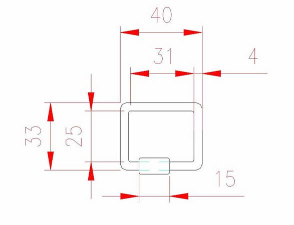 Square Quick Link - Stainless Steel - JSHL25