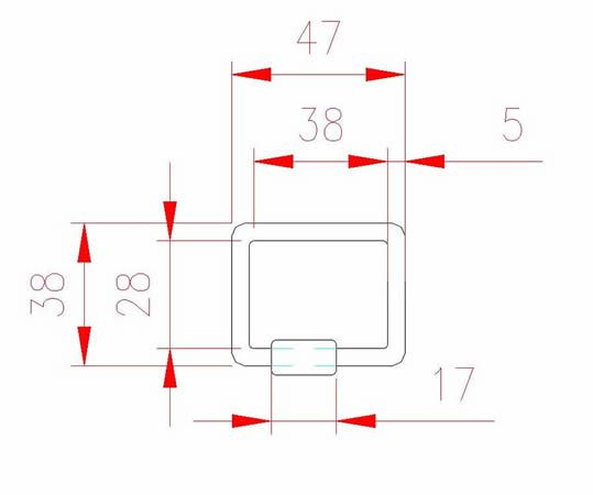 Square Quick Link - Stainless Steel - JSHL26