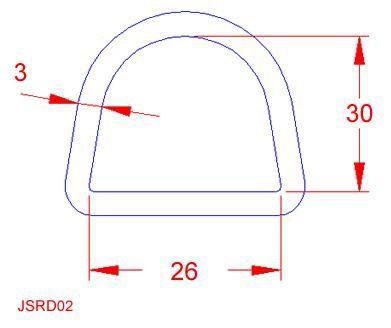 D Ring - Stainless Steel - 316 - JSRD02