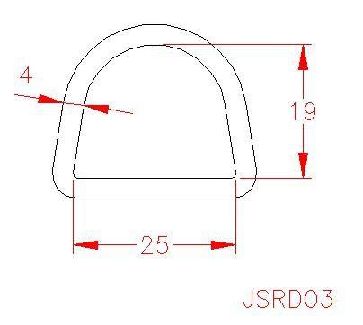 D Ring - Stainless Steel - 316 - JSRD03