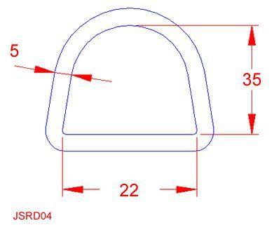 D Ring - Stainless Steel - 316 - JSRD04