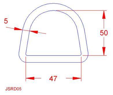 D Ring - Stainless Steel - 316 - JSRD05