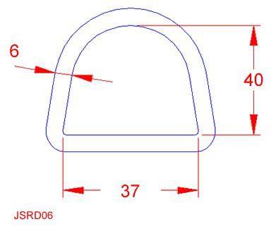 D Ring - Stainless Steel - 316 - JSRD06