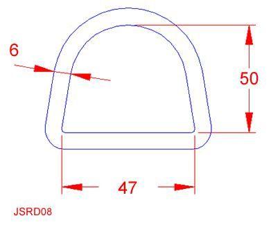 D Ring - Stainless Steel - 316 - JSRD08