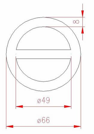 Round Ring - Stainless Steel - 316 - JSRR17