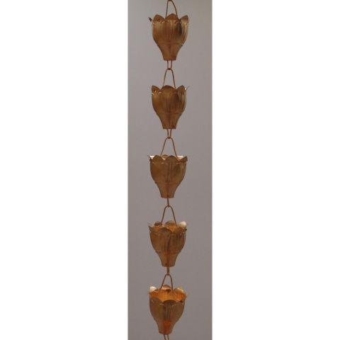Bluebell Rain Chain - Copper - Copper - Copper - MHRC001