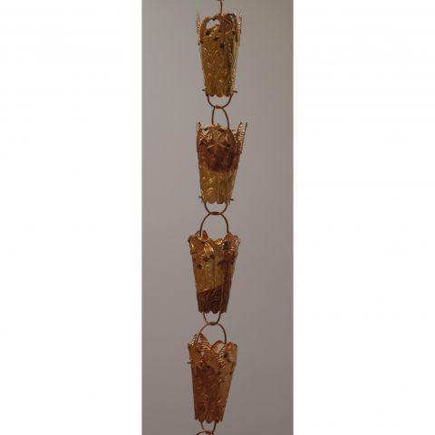 Hummingbird Rain Chain - Copper - Copper - Copper - MHRC009