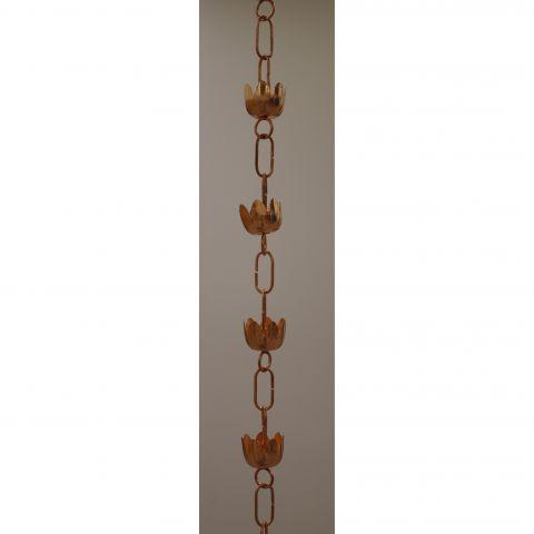 Lily Rain Chain - Copper - Copper - Copper - MHRC014