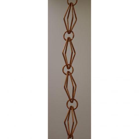 Diamond Rain Chain - Copper - Copper - Copper - MHRC018