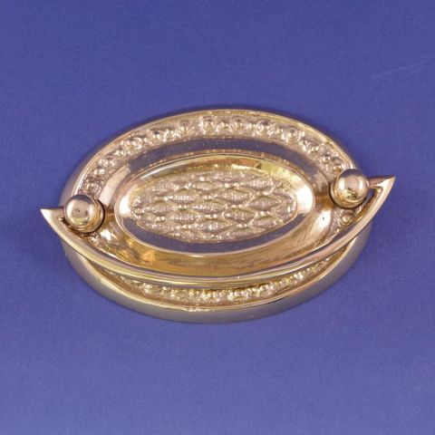 Oval Plate Handle