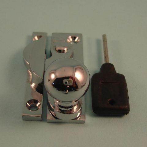 Forged Classic Claw Fastener - Ball Knob - Locking