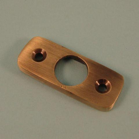 Flush Knot Holder - Brass
