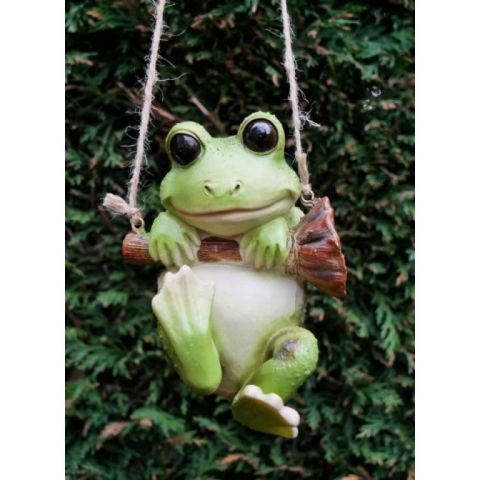 Hanging Frog - Resin - Hand Finished - MHDI061
