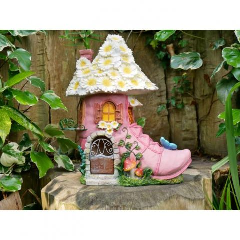 Fairy House In A Shoe
