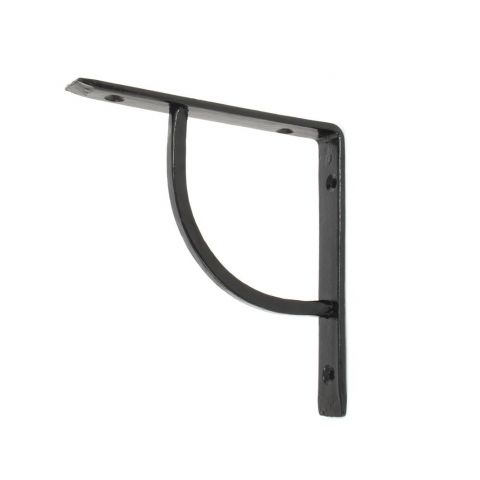 "6"" x 6"" Plain Shelf Bracket - Black - MHAN1767"