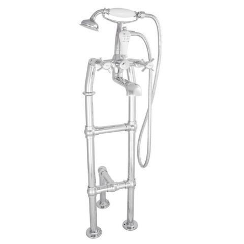 Freestanding Mixer Taps With 3rd Leg Support