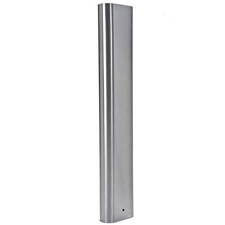 Flat Sided Oval Bollard - Stainless Steel - Satin - 304 - JS4B37