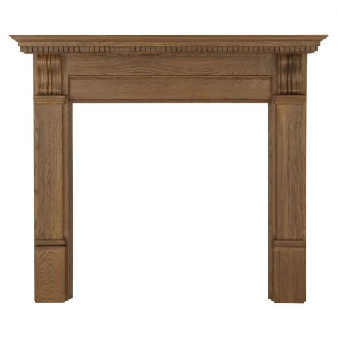 Corbel Wooden Fireplace Surround