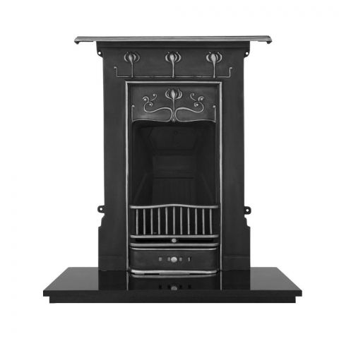 Abbot Cast Iron Combination Fireplace
