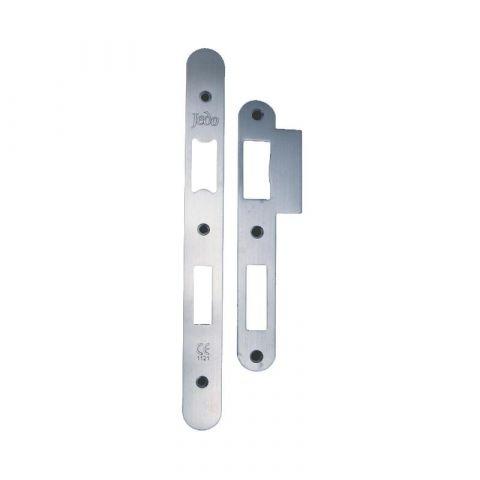 Radiused Plates for Din Locks