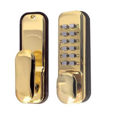 Digital Door Lock with Holdback