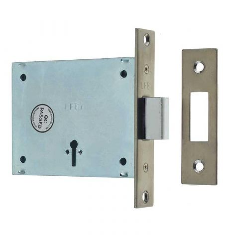 Fire Brigade Mortice Lock and Key