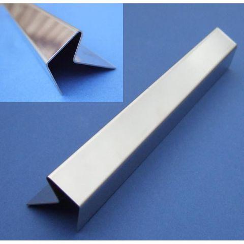 Chevron Stair Edging - Stainless Steel - Mirror - 304 - JS-TR41