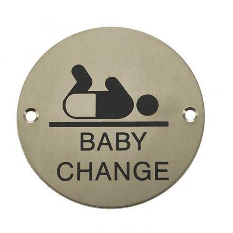 Baby Change Symbol Sign