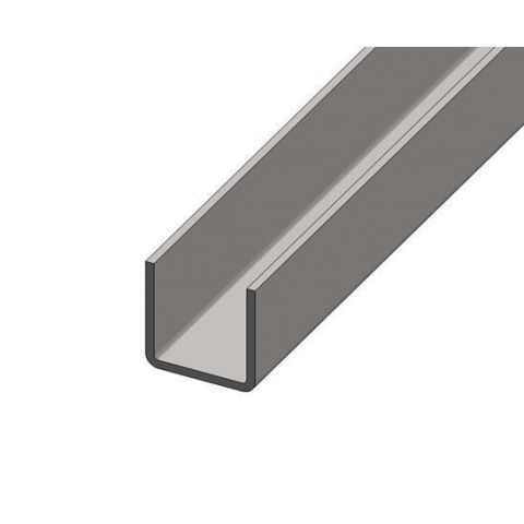 Formed Section - Stainless Steel - Satin - 316 - JS2FS08