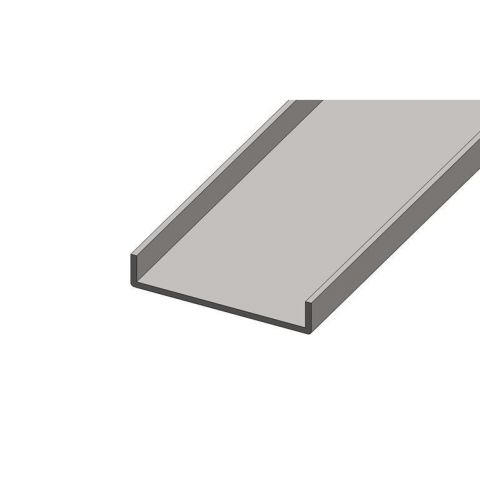 Formed Section - Stainless Steel - Satin - 316 - JS2FS10