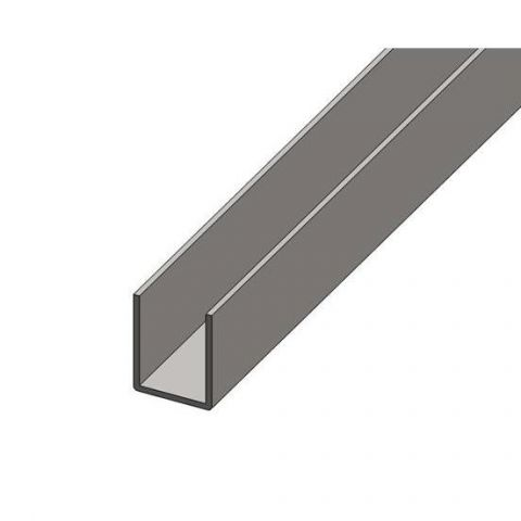 Formed Section - Stainless Steel - Satin - 316 - JS2FS12