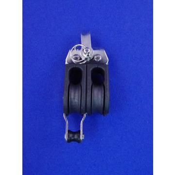 Double Pulley Block - Stainless Steel - JS2P36