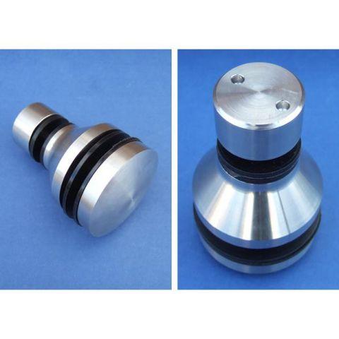 Glass Canopy Rear Bush - Stainless Steel - Satin - 316 - JS3G02