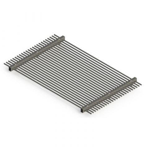 Stainless Steel Self-assembly Barbecue Grill - Stainless Steel - Satin - 304 - JSBBQ1