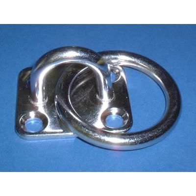 Four Hole Eyeplate with Ring
