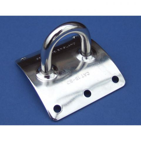 Horizontal Cruiser Mast Eye Plate - Stainless Steel - 316 - JSEP18