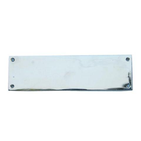 Push Plate - Brass - Nickel - MHIN0115
