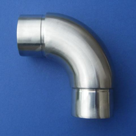 90° Bend - Stainless Steel - Satin - 316 - JSLD02