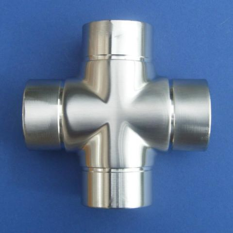 Cross Join - Stainless Steel - Satin - 316 - JSLA14