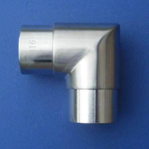 90° Elbow - Stainless Steel - Satin - 316 - JSLA10