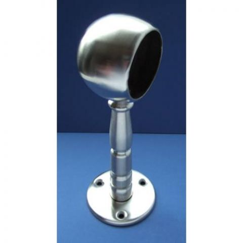 End Ball Pillar Bracket - Stainless Steel - Satin - 316 - JSLA19