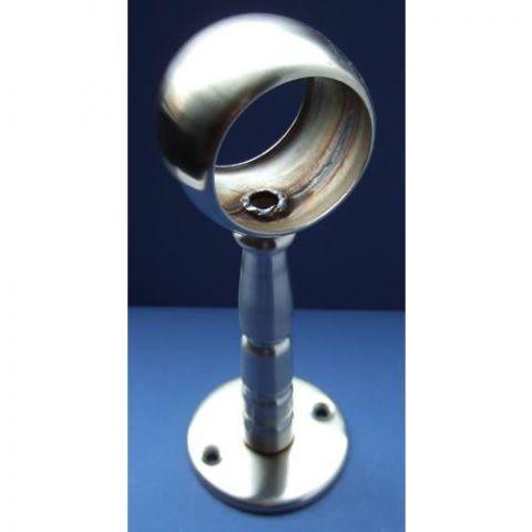 Centre Ball Pillar Bracket - Stainless Steel - Satin - 316 - JSLA20