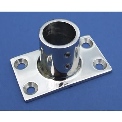 Rectangular Base - Stainless Steel - Mirror - 316 - JSLB04