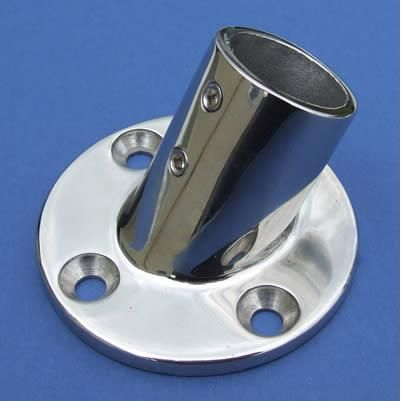 60° Round Base - Stainless Steel - Mirror - 316 - JSLB05