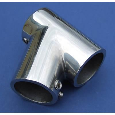 60° T Join - Stainless Steel - Mirror - 316 - JSLB06